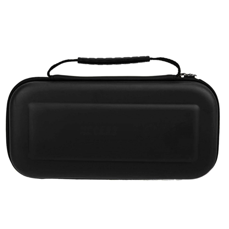 Hard Portable Perjalanan Membawa Pelindung Penyimpanan Tas Casing Eva Shell Penutup Lengan Untuk Nintendo Switch Game Cables Aksesoris Kartu Hitam By Elek.