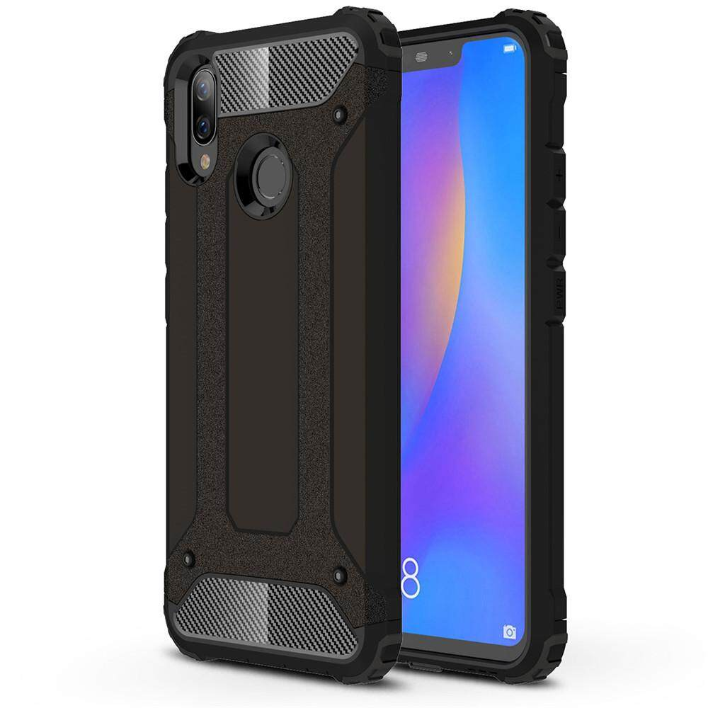 Lenuo Hybrid Shell Armor Case for Huawei nova 3i Rugged TPU + Hard Plastic Anti-