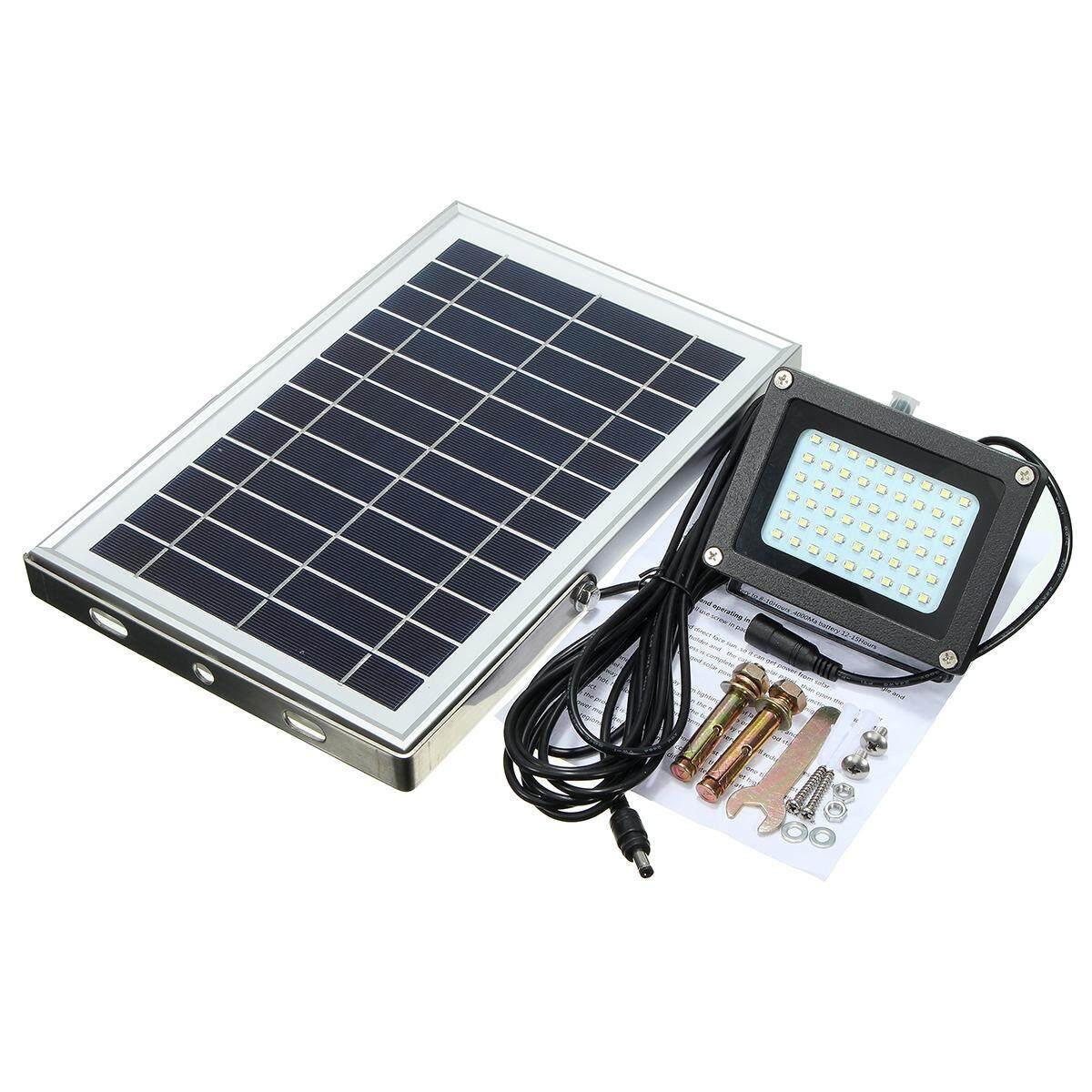 ... Sangat Tipis 28 Mm 36 Watt Off Road Ringan Bar 12 Cree Memimpin. Source · 54 LED Solar Powered Tahan Air Keamanan Outdoor Lampu Sorot W/Panel-Hitam-