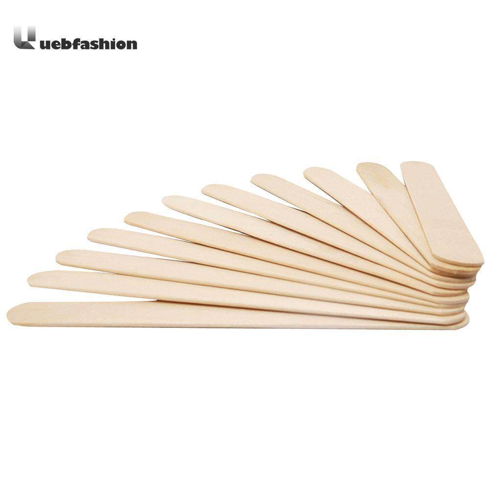 Buy Sell Cheapest Fuan 50pcs Ice Best Quality Product Deals Sendok Puding Jelly Eskrim Teh Besar Stg  50 Pcs Lolly Stick Hand Craft Diy Making Cream Sticks