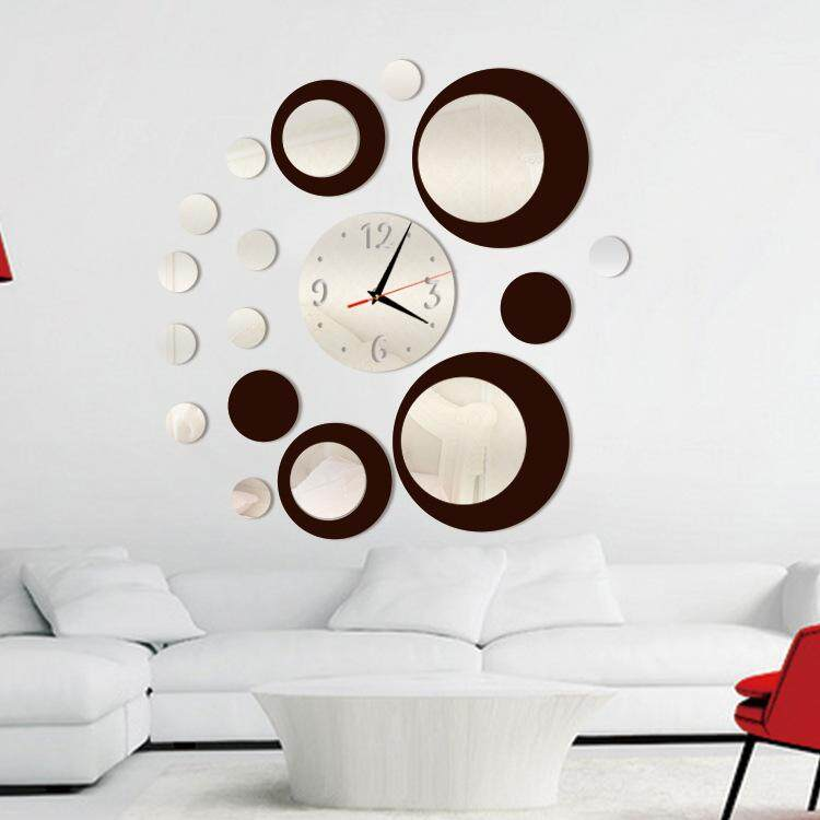 Creative home background mirror wall stickers (good quality fast delivery) - intl