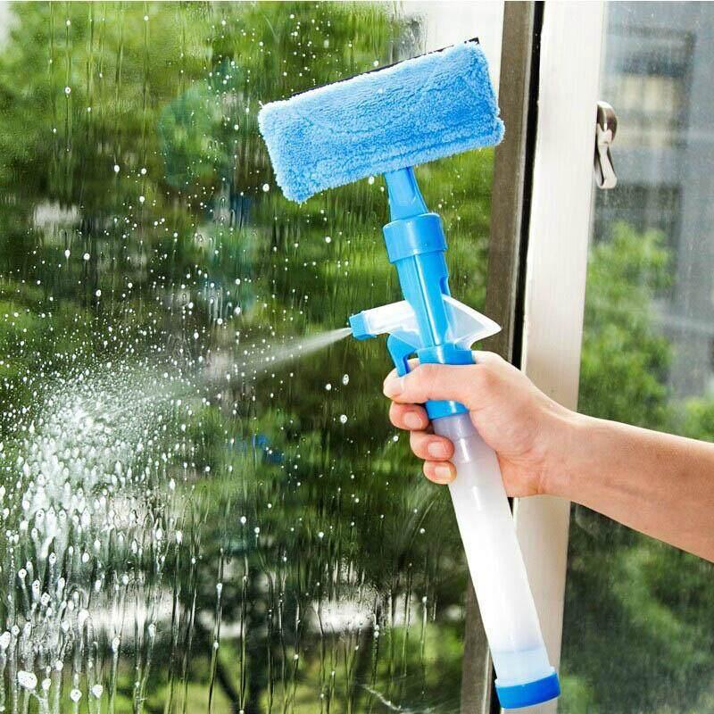 Hình ảnh ABH Multifunction Home Tools Spray Water Brush Cleaner - intl