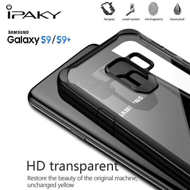 Fitur Samsung Galaxy S9 Ipaky Tough Protection Transparent Bumper