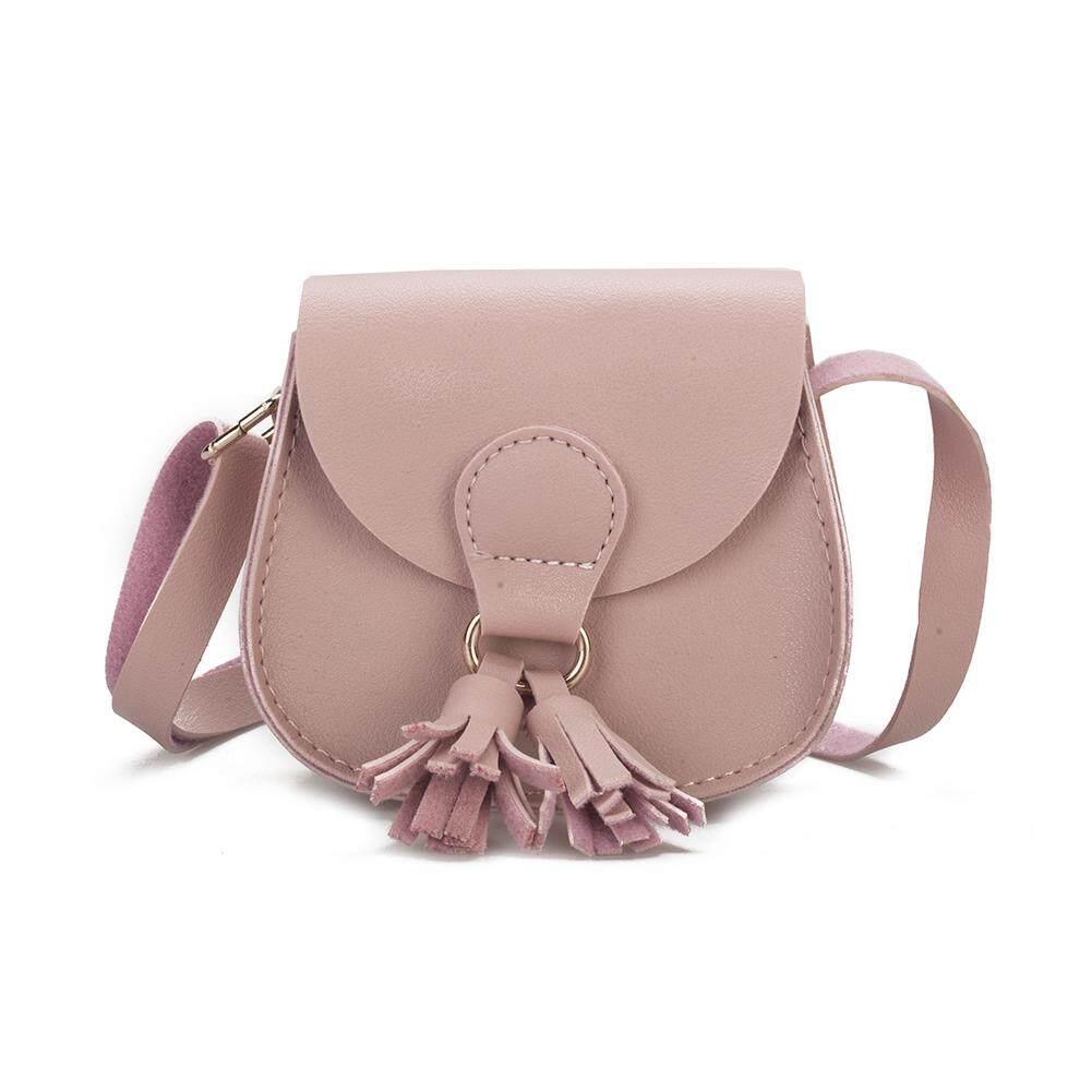 Giá bán Big Sale Children Fashion Wallet Mini Satchel Portable Bag with Tassel Single-shoulder Bag