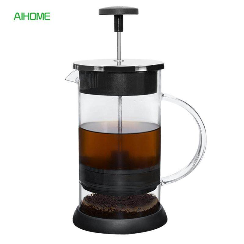 1000ml French Coffee Press Pot Coffee Plunger Tea Infuser Brewing Tea Maker With Filter Glass Stainless Steel Drinkware By Paris Spring Department Store-.