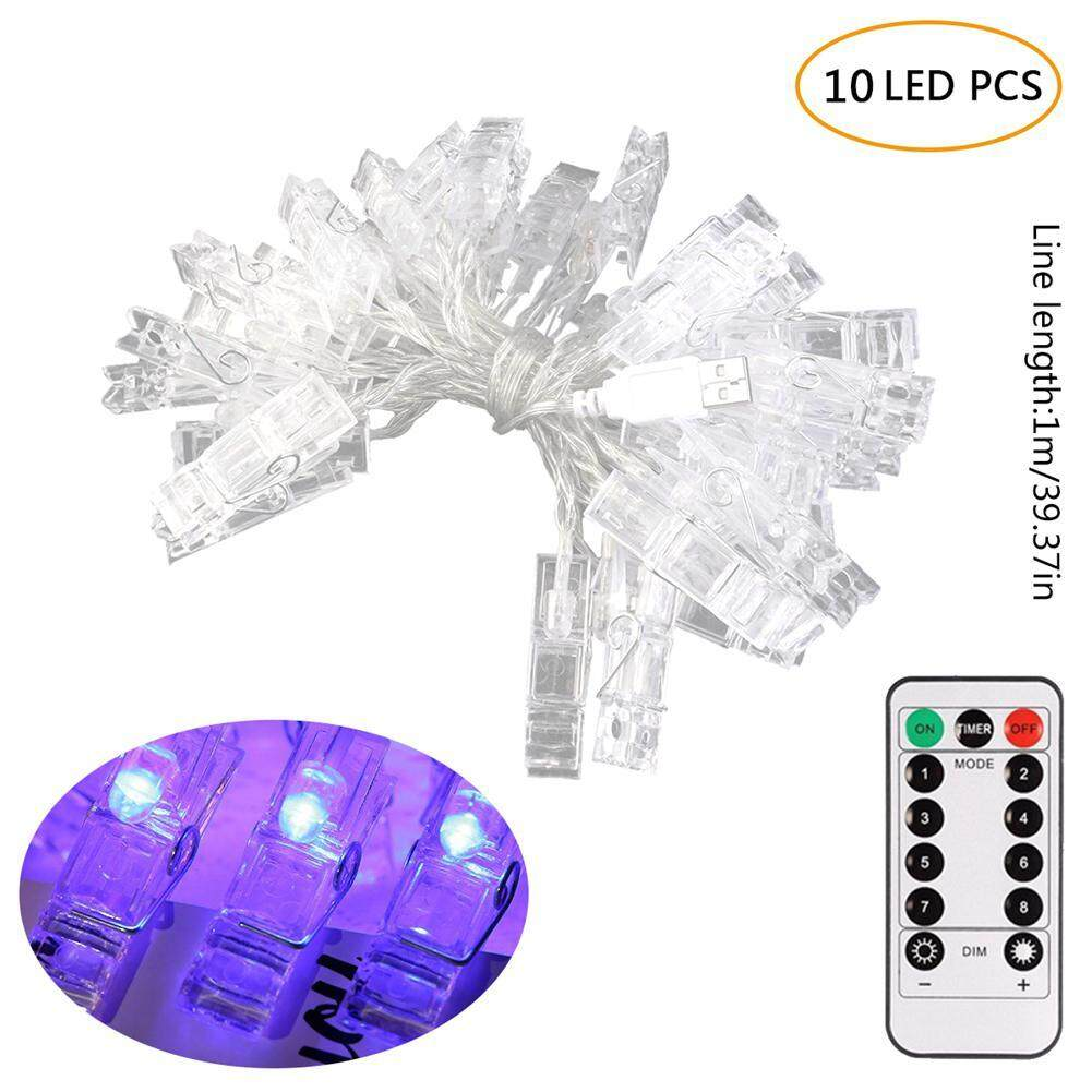 Buy Sell Cheapest 1 M Clip Best Quality Product Deals Indonesian Jepitan Metal Untuk Microphone On Leegoal 10 Photo Clips String Lights Holder Indoor Fairy For Hanging Photos
