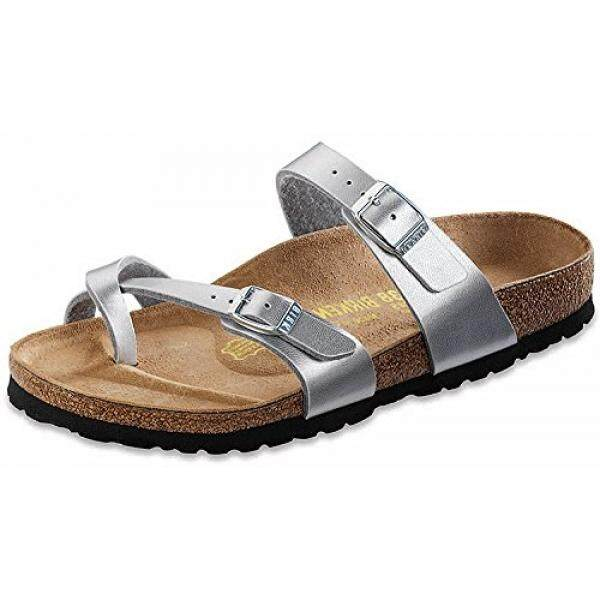 2f5fa28200c435 Birkenstock Arizona Suede Leather Washed Metallic Blue Silver price ...