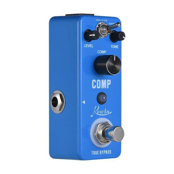 Rowin COMP Compressor Compress Guitar Effect Pedal Aluminum Alloy Shell True Bypass