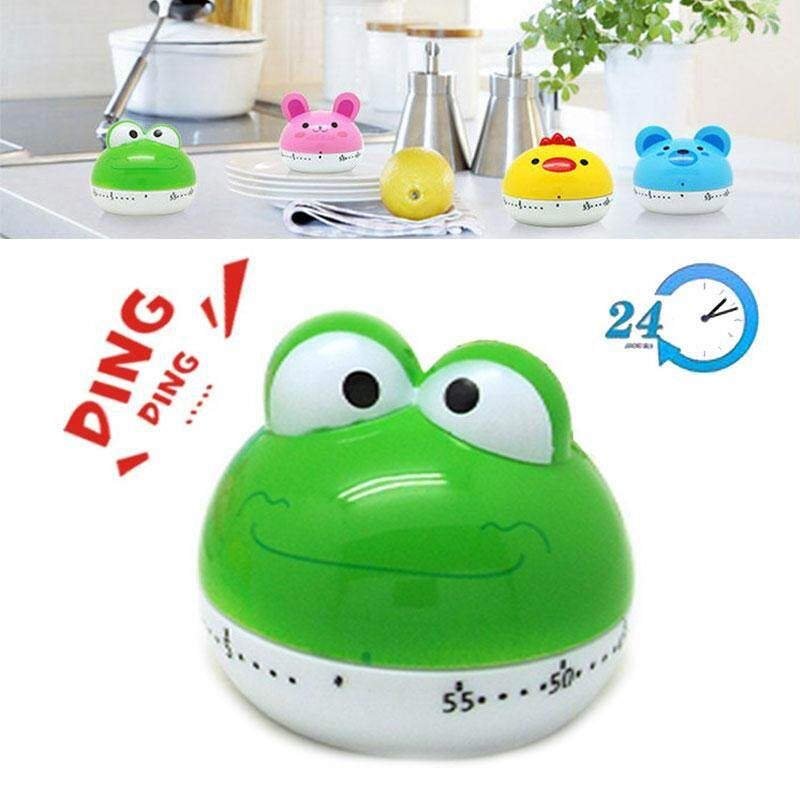 Timer Kitchen 60 Minute Cooking Mechanical Home Decoration - intlIDR76000. Rp 77.000