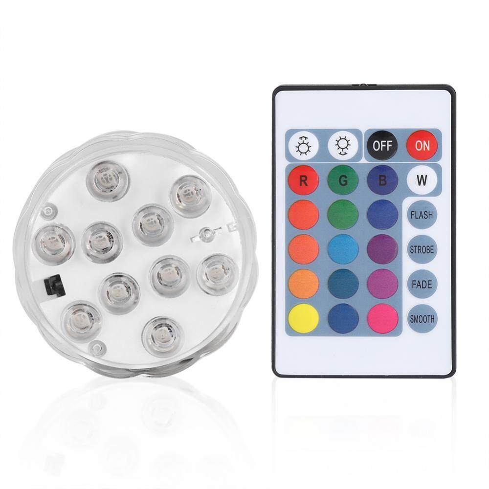 Remote Control Submersible Waterproof Led Light Color Changing Aquarium Fish Tank Decor - Intl By Minxin.