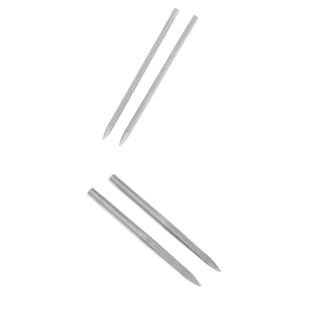 Magideal 4pcs Stainless Steel Paracord Fid Lacing Stitching Needles 2mm 3mm Outdoors By Magideal.