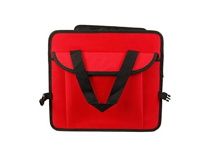Storage box Oxford cloth Car storage box#Red - intl