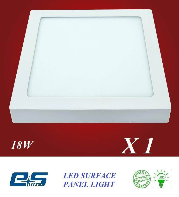 ES LITE LED SURFACE PANEL LIGHT SQUARE 18W WARM WHITE