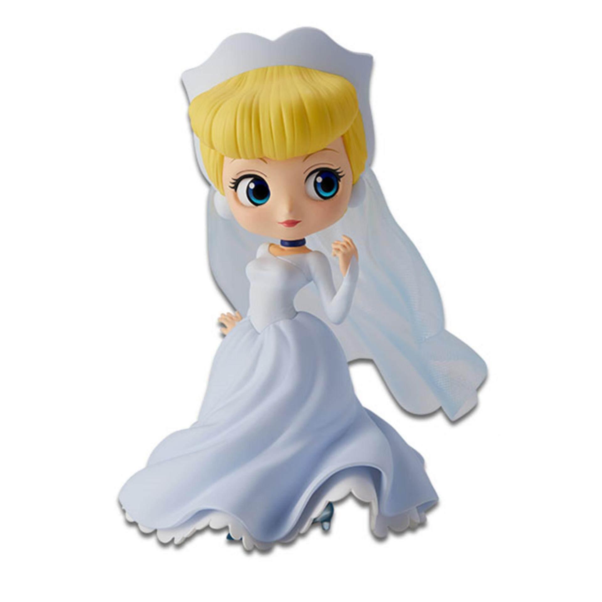 Banpresto Q Posket Disney Princess Figure Normal Version - Cinderella Dreamy Style