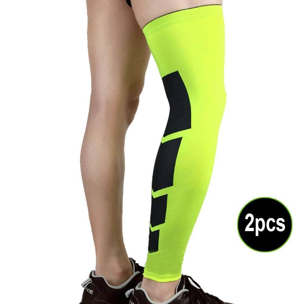 Amart Sepasang Pro Pemulihan Kompresi Olahraga Gym Pelindung Lutut Olahraga Bola Basket Legging Brace Kaki Lengan