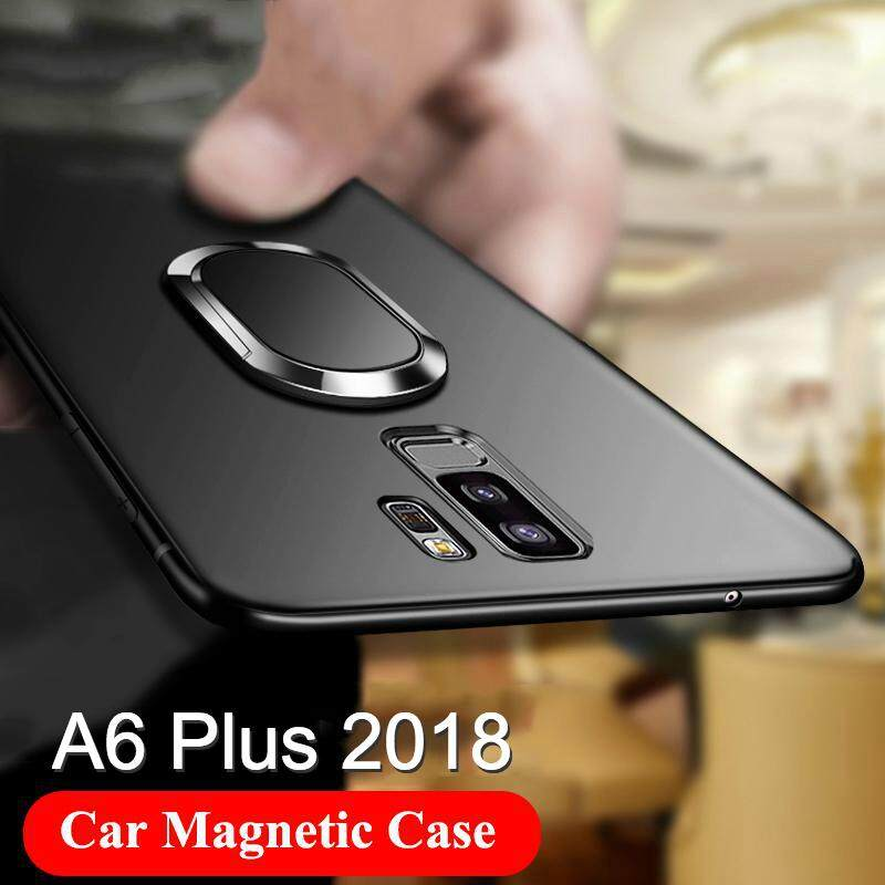 Fitur Iface Samsung Galaxy A6 Plus 2018 Ring Magnetic Holder Case