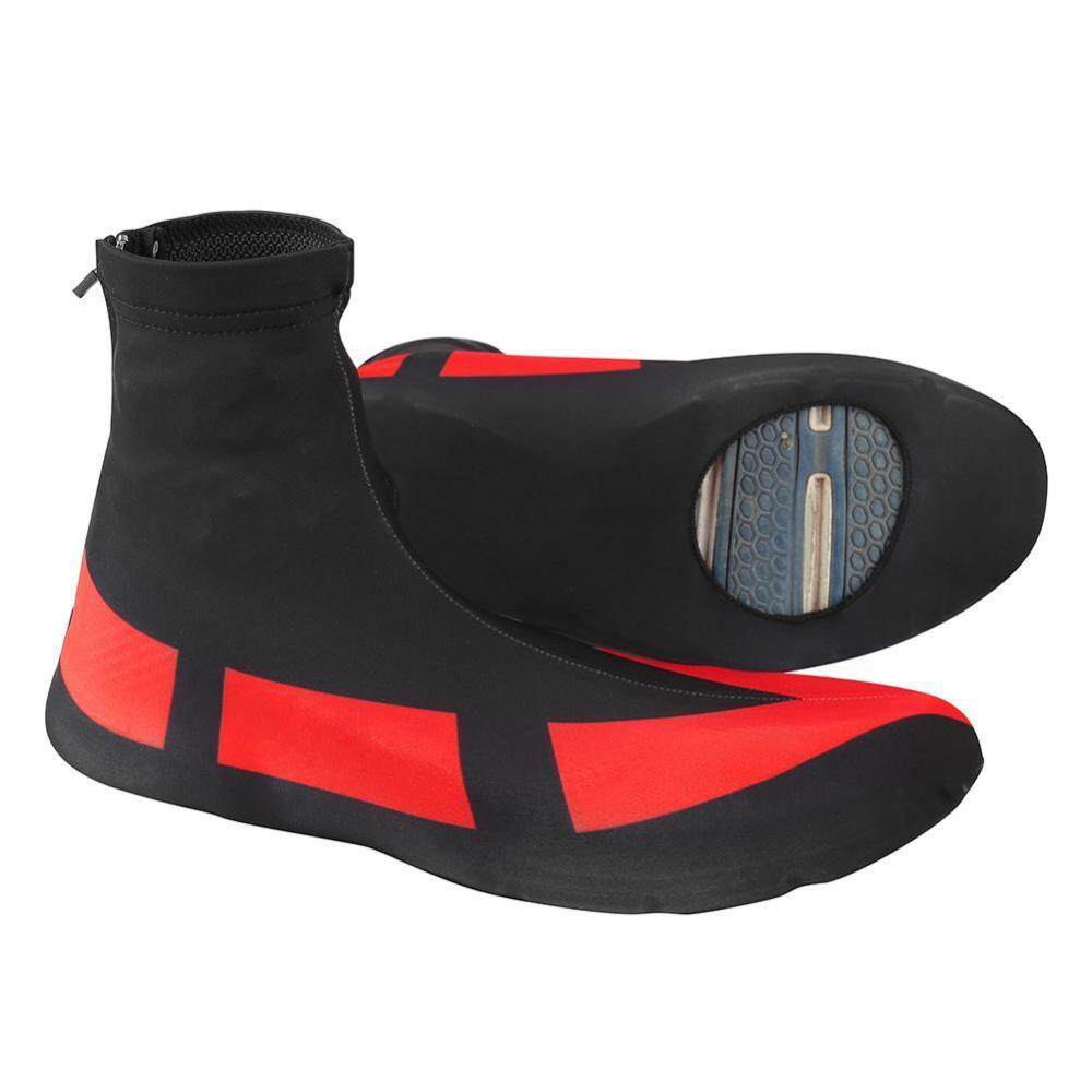 1 Pair Windproof Dustproof Cycling Bike Sports Shoes Cover Overshoes Protector (m) - Intl By Duoqiao.
