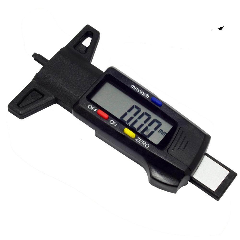 0-25.4 มิลลิเมตรดิจิตอลดอกยางเครื่องวัดความลึกวัดเครื่องมือวัดเครื่องมือ Caliper Lcd จอแสดงผล Tpms ยางเครื่องวัดความดันลมยาง.