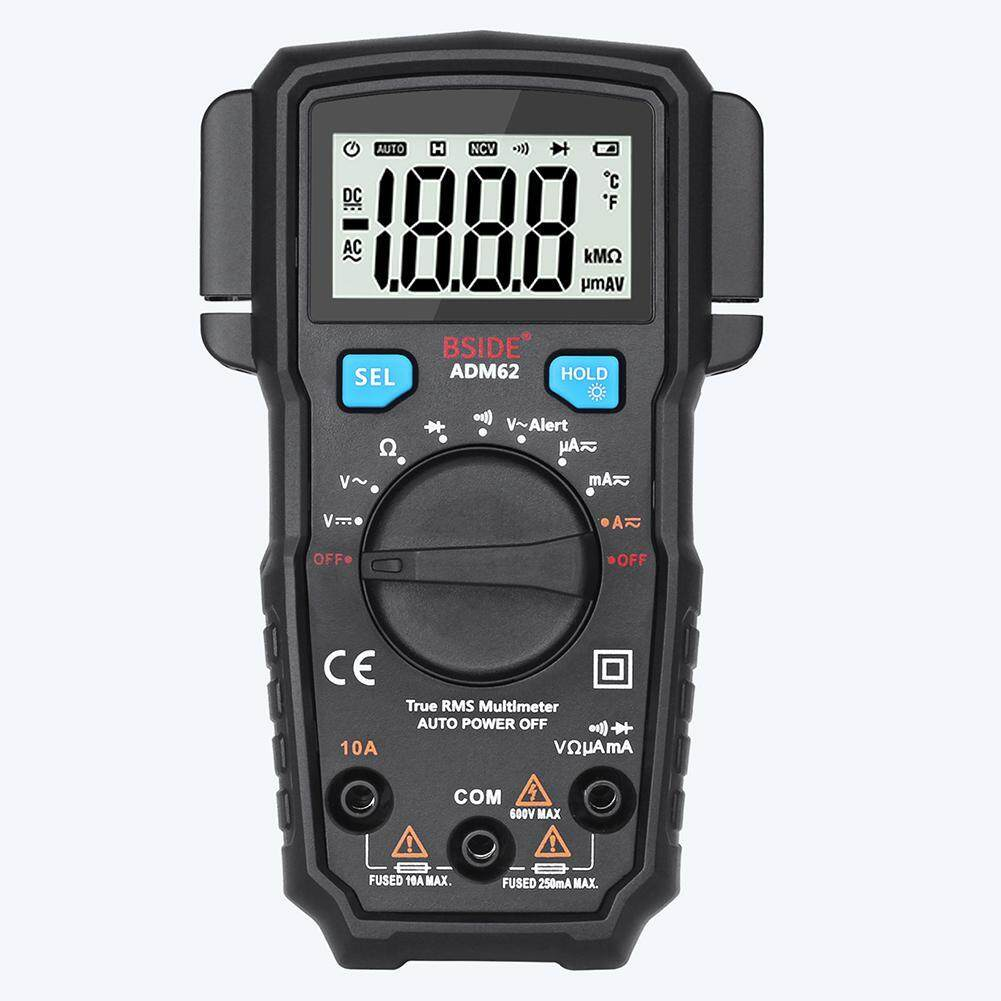 (Free shipping)(American Version BSIDE ADM62 Digital Multimeter RMS AC DC Current Clamp