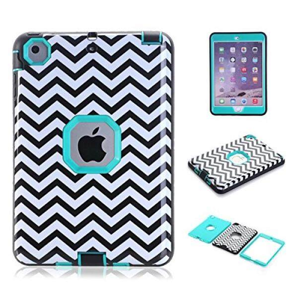 Pelindung iPad Mini, Ipad Mini 2/3 Case, cexcob Chervon Kulit Tahan Guncangan