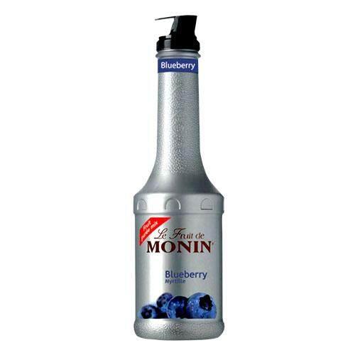 MONIN BLUEBERRY FRUITMIX PUREE 1LT