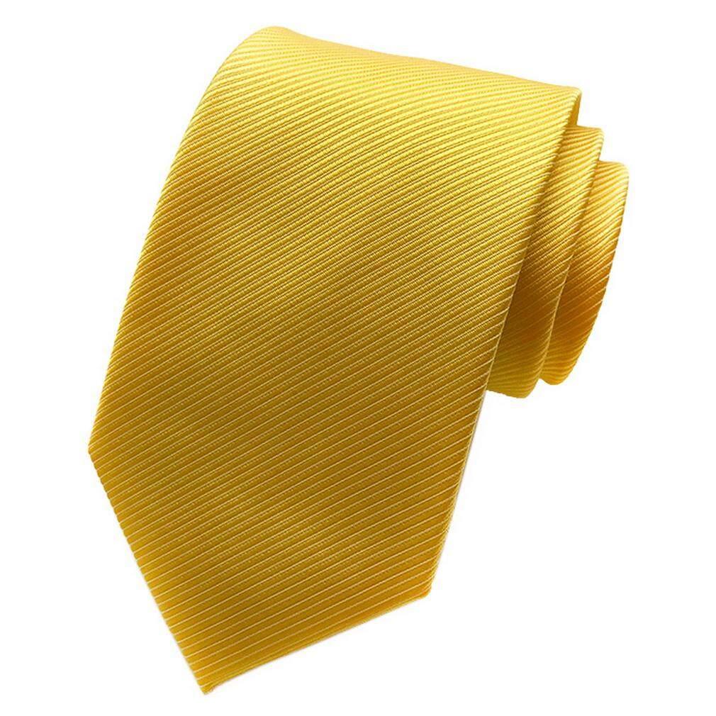 Bigood ผู้ชายผ้าไหมสีทึบธุรกิจเนคไทแบบทางการเน็คไทงานแต่งงาน 8 เซนติเมตร By Bigood Online.