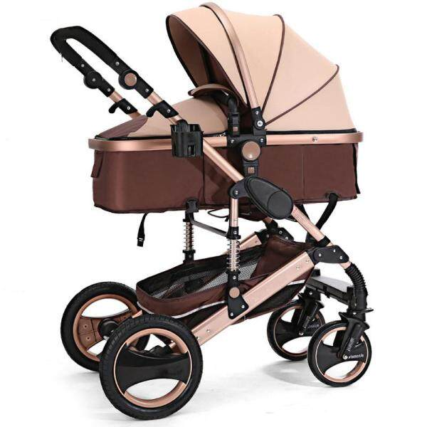 8 in 1 Pram Pushchair Newborn Baby Stroller Buggy Carriage Infant Travel Car US - Singapore