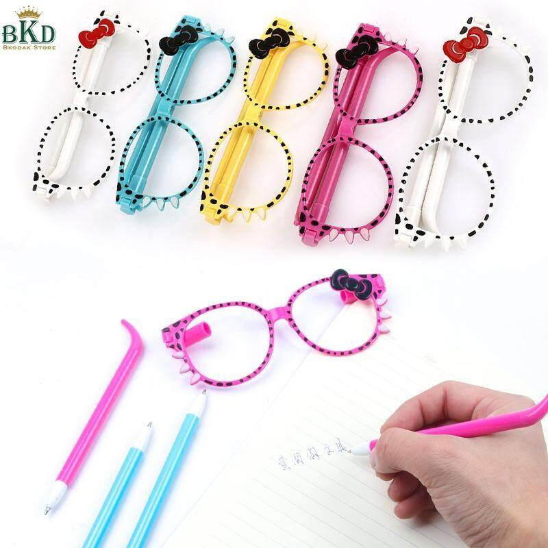 Mua Bkodak Store 5pcs/Set 0.7mm Glasses Gel Ink Pen Roller Ball Pen Ball-Point Cute
