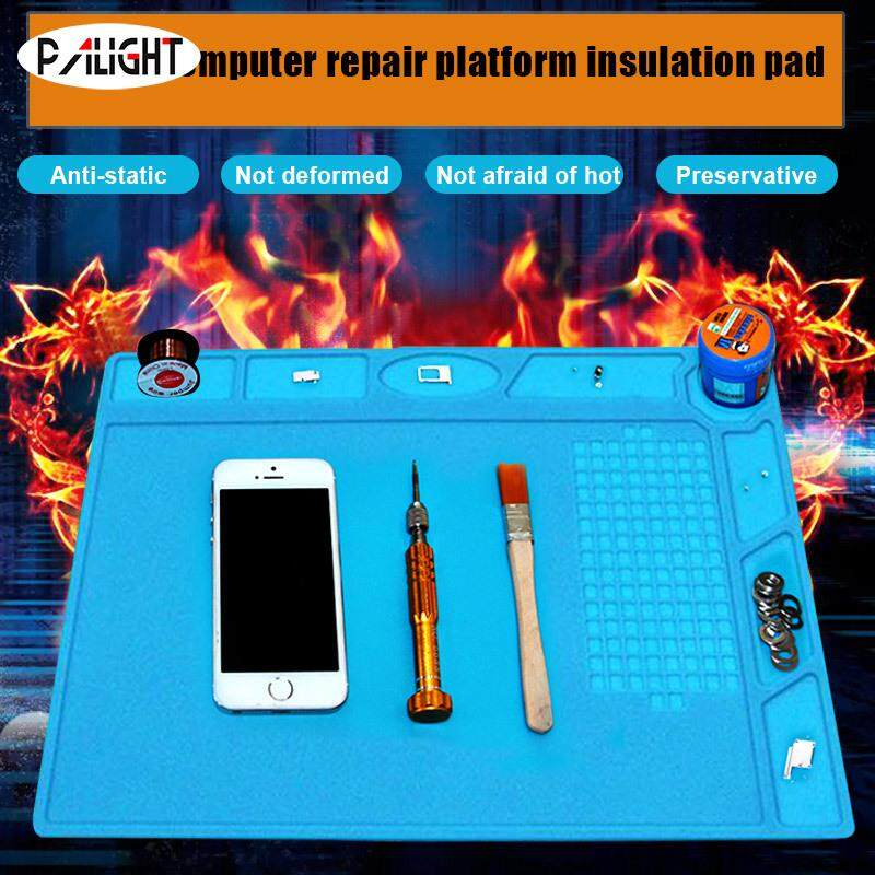 PAlight Phone Heat Insulation Repair Pad Mat Silicone Storage Screw Anti Static For PC Repairing Malaysia
