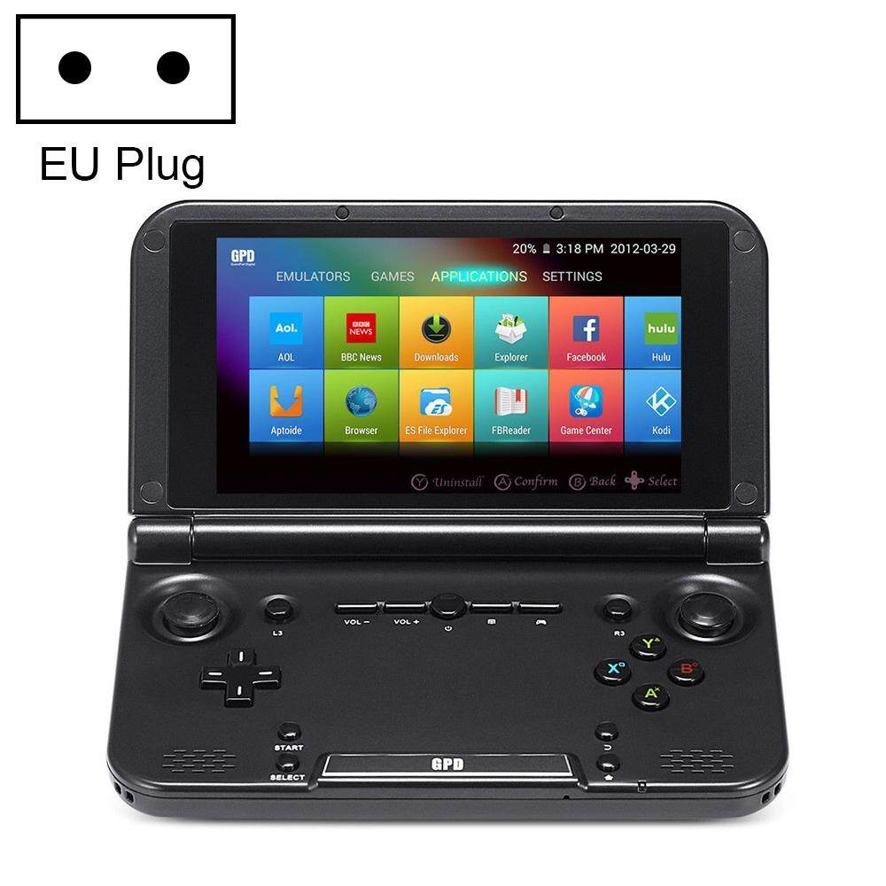 Gpd Xd Plus 5.0 Inch H-Ips Screen Flip Video Game Console Handheld Game Player, Mt8176 2 X A72 + 4 X A53 Up To 2.1ghz + 1.7ghz, Android 7.0, 4gb + 32gb, Support Bluetooth / Wifi / Hdmi, Eu Plug By Wtyd.