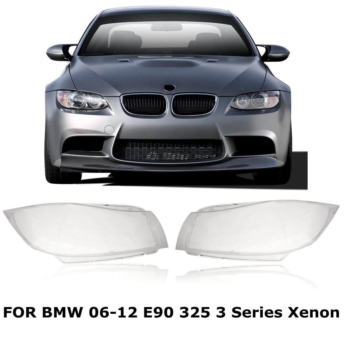 Sepasang Kiri + Kanan Lampu Lensa Lampu Kepala Mencakup BMW 3 Series E90 2006-2012-Intl