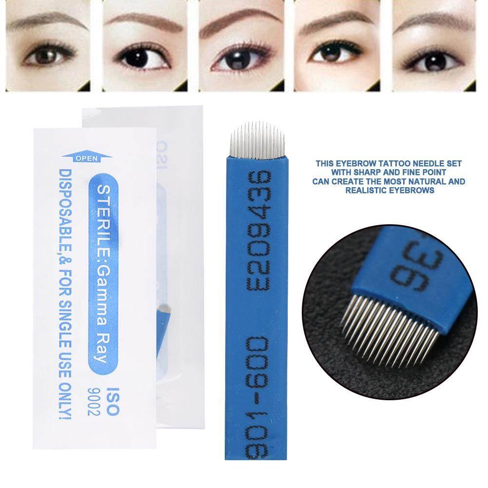 Buy Sell Cheapest Kai Pisau Sulam Best Quality Product Deals Alis Kerok 50 Pcs Sekali Pakai Semipermanen Tato Manual 16 Pin