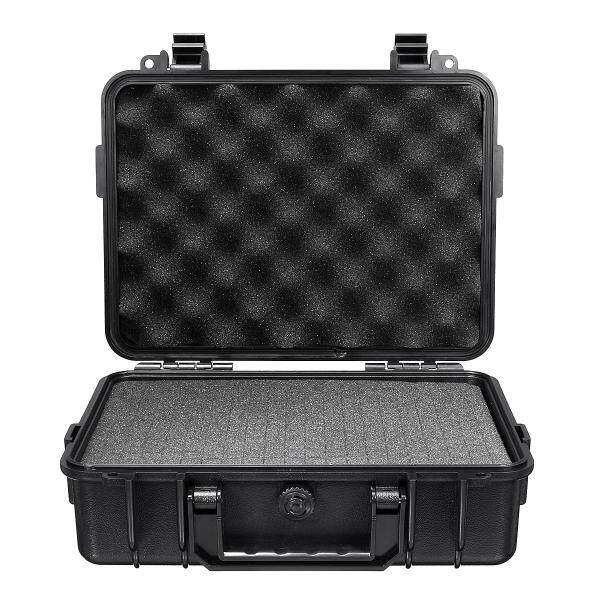 Waterproof Hard Carry Case Bag Camera Photography Storage Box+Free Form Tool Box