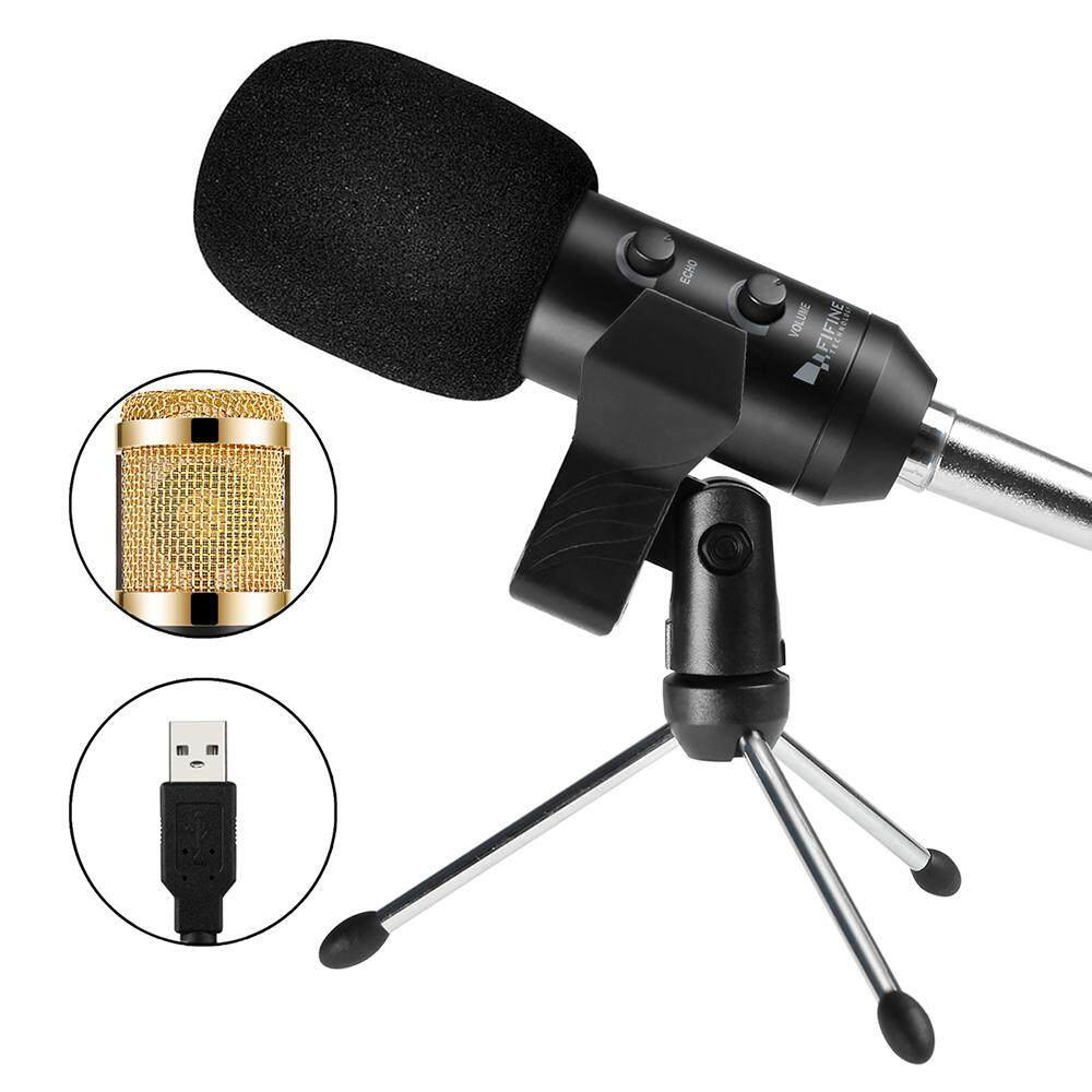 FIFINE K058 USB Stereo Microphone for Laptop / Desktop with USB Port