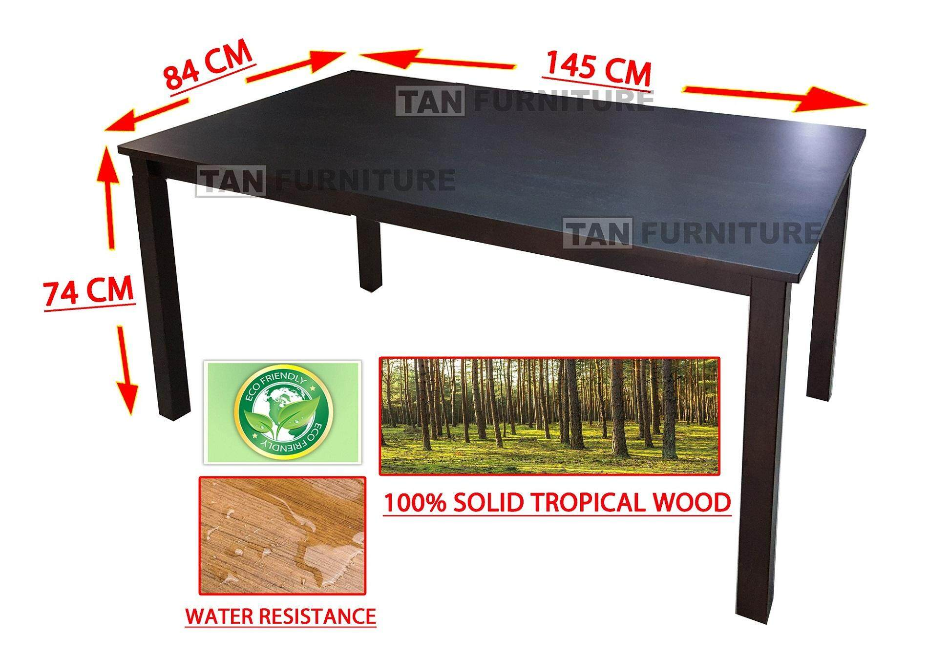 Tf Dining Table Fully Solid Wood