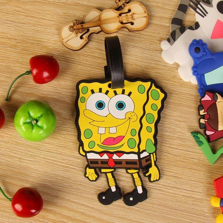Cute SpongeBob Luggage Tag