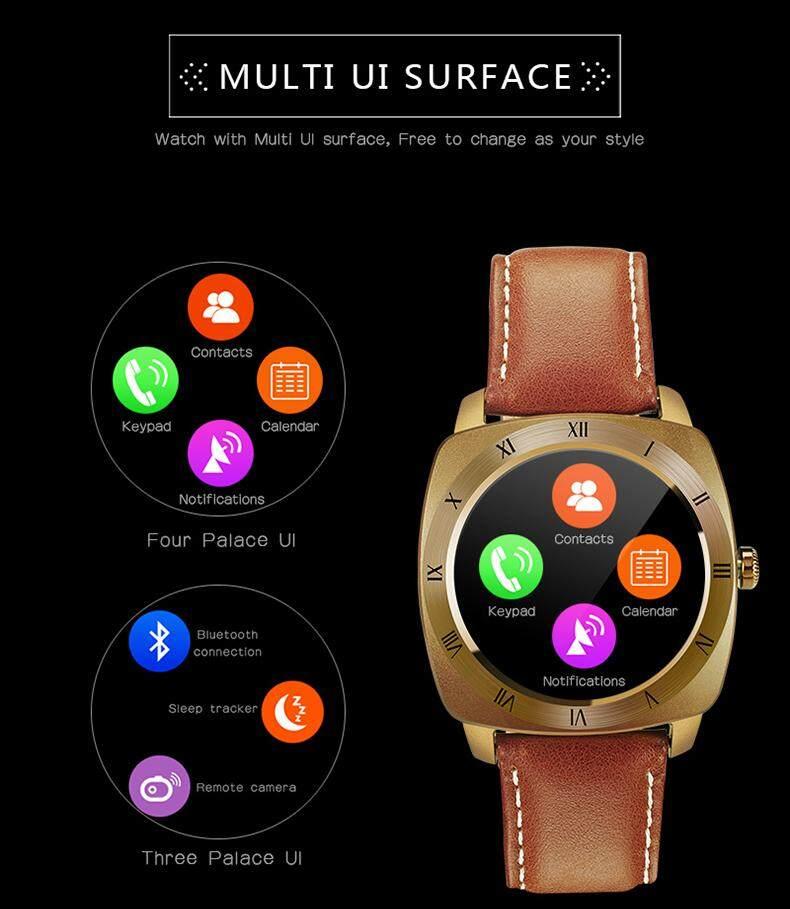 Smart Watches for Men Waterproof Bluetooth Smart Watch Heart Rate DM88