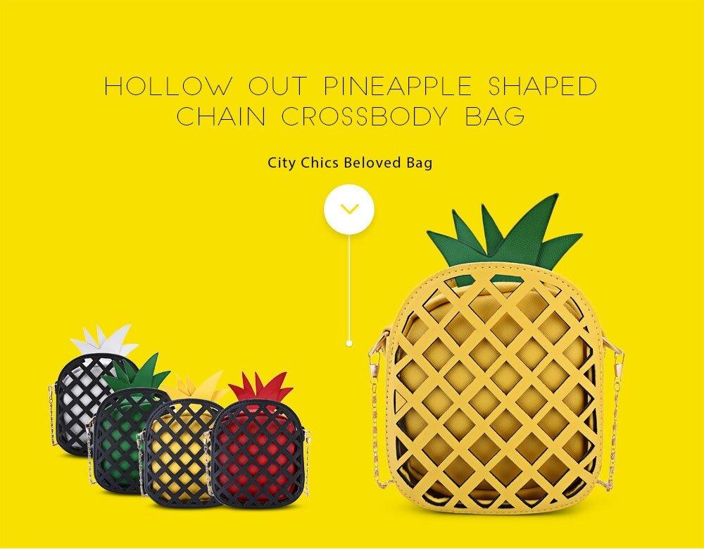 5b9a8e83c6f OOTD28 Chinese PINEAPPLE MINI SLING BAG CROSSBODY BAG (YELLOW BLACK), Yellow