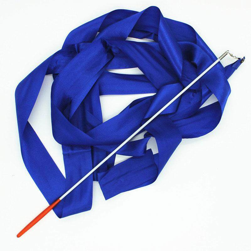 Hình ảnh Amart New Design Dance Ribbon Gym Rhythmic Gymnastics Rod Art Ballet Twirling Ribbon 4m - intl