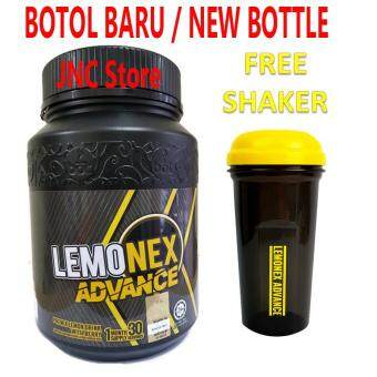 LEMONEX Advance BOTOL BARU + FREE SHAKER LEMONEX ADVANCE ( Premix Lemon Drink With Berry ) - 390g