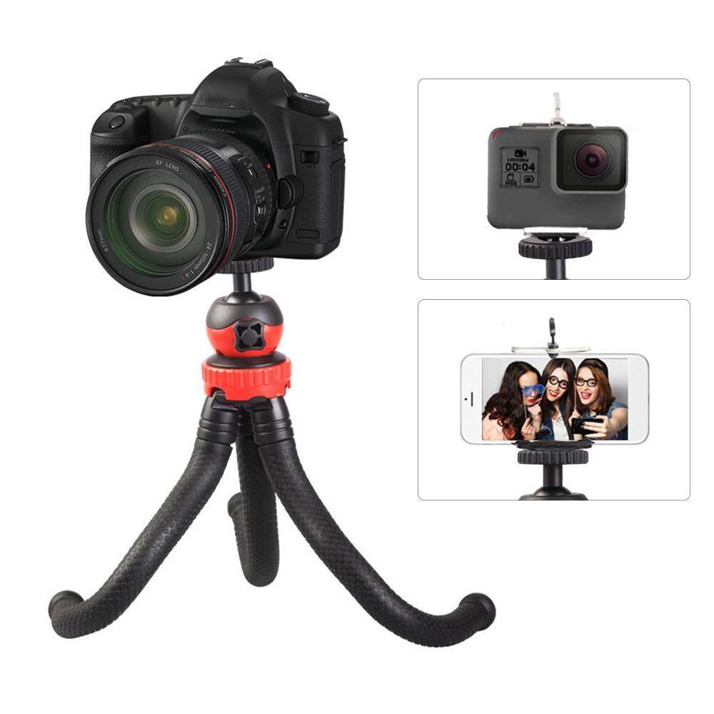 Mini Fleksibel Tripod Gurita Spider Stand Pemegang dengan 360� Kepala Bola untuk GoPro Gunakan 6/5/4/ 3 +/3 Kamera Aksi Yi untuk Perkakas Bertualang DSLR untuk iPhone X 8 7 Ponsel-Intl