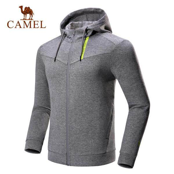 2018 new camel Sport Mens fashion leisure cap hat jacket comfortable waist waist sports jacket