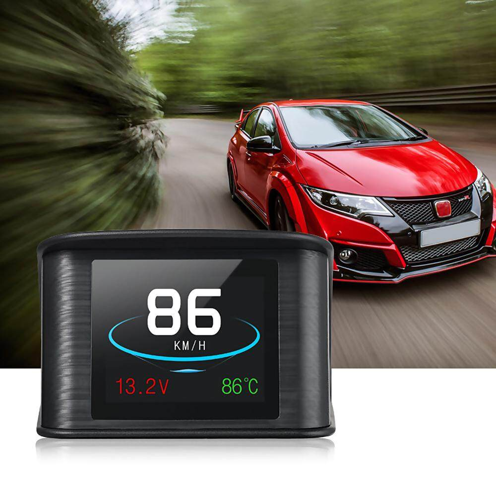 OverSpeed Warning Car Smart Digital Speedometer Head Up Display For OBD2 EUOBD - intl