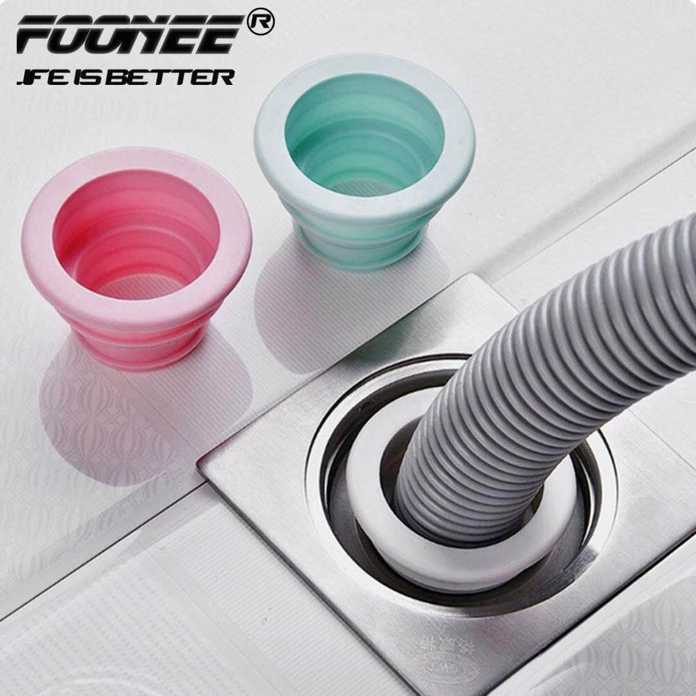 Foonee Lengthen kitchen sewer seal ring pipe deodorant sealing plug washing machine drain pipe floor drain