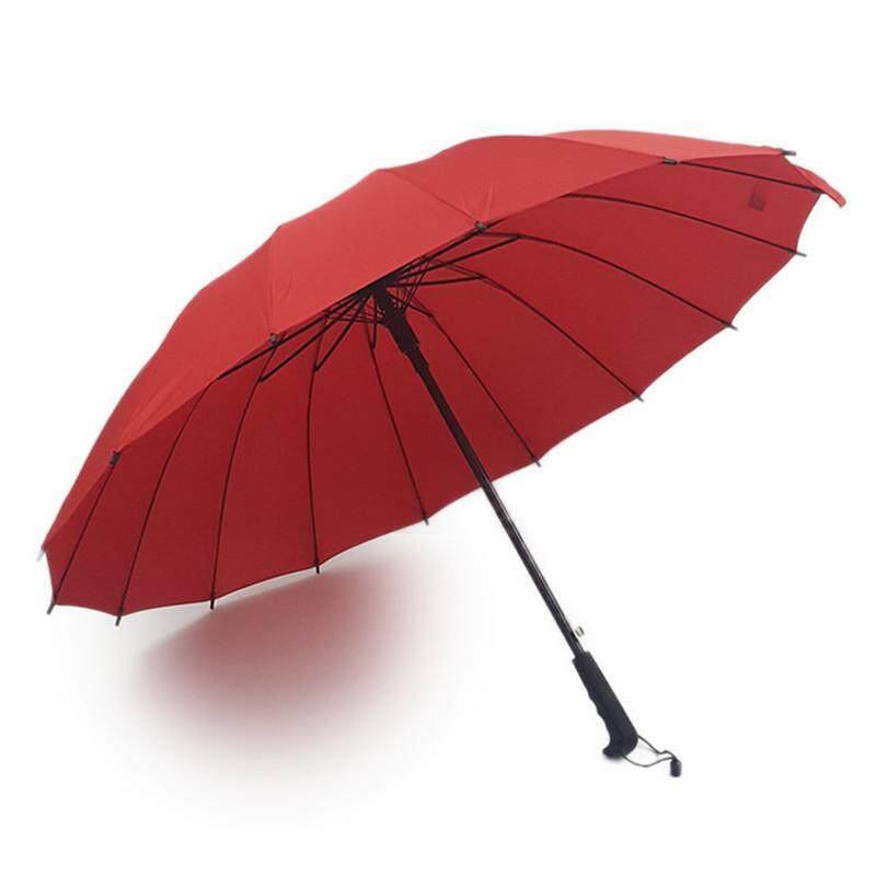 16 Bone Automatic Straight Handle Umbrella Men And Women Double Business Golf Umbrella By Audew.