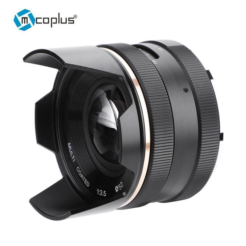 Mcoplus 14mm f3.5 Manual Aperture Focus Lens Accessory for Mirrorless Cameras (for Canon)