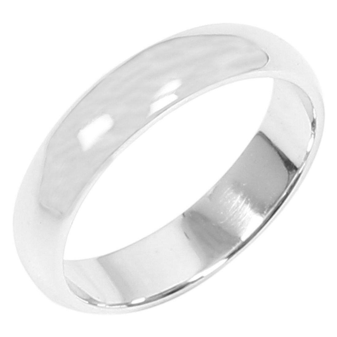 Sterling Silver Plain Band Comfort Fit Ring Solid 925 -2mm,15.6mm