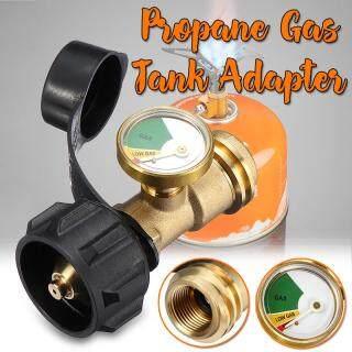 Bộ Chuyển Đổi Bình Gas Propane Với Đầu Nối Vỏ Bảo Vệ, Với Đồng Hồ Đo Bình Propane thumbnail