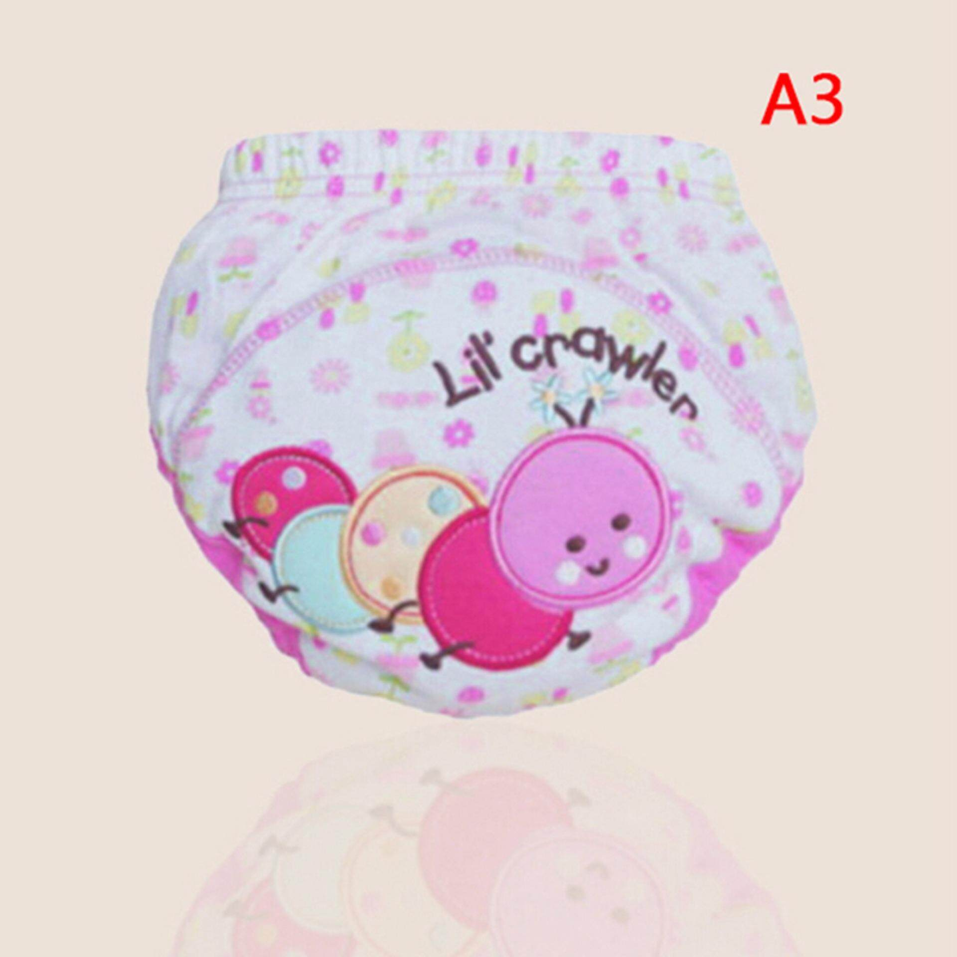 Baby Boy Girl Trainingr Pants Cotton Cloths Nappy Infant Kid Underwear By A-Liname.
