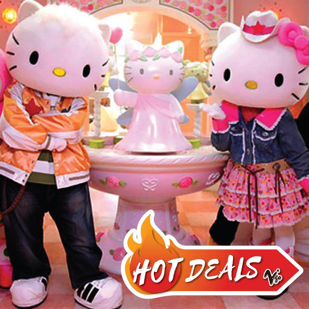 Johor: [Evening Pass 3pm to 6pm] Sanrio Hello Kitty Town + Thomas Town Ticket [Adult/Child]